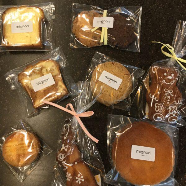 お菓子の納品/マルヤガーデンズ ブランシェさま